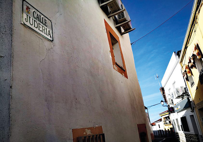 The pre-Inquisition Jewish quarter of Arroyomolinos.  Photos: Henry-Cameron Allen
