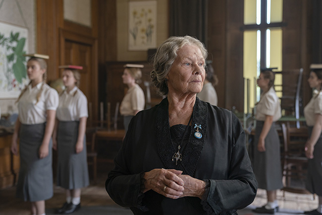 "Dame Judi Dench oversees the English education of the daughters of the Nazi elite in ""Six Minutes to Midnight."""