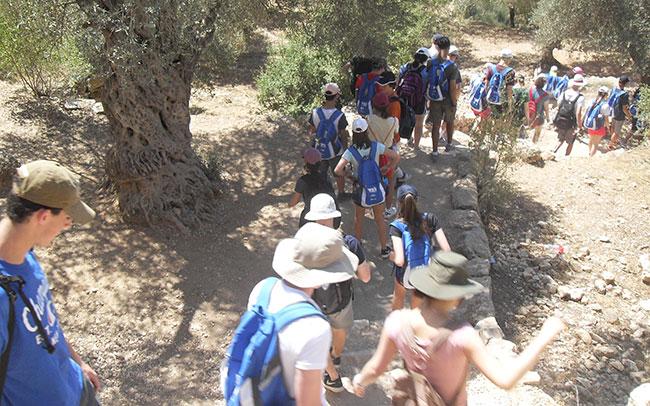 North Shore Jewish teens on a recent Y2I Adventure trip to Israel.