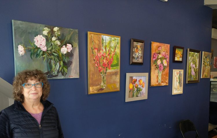 Tamara Wolfson at Christopher's Cafe in Lynn.
