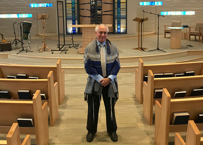 """I do know that the live streaming services and the ability to stream classes, meetings and other gatherings online has been a great success through this challenging time,"" said Rabbi David Meyer of Temple Emanu-El in Marblehead."