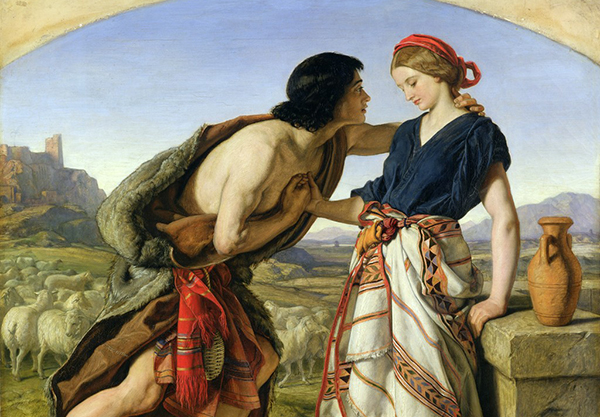 """The meeting of Jacob and Rachel,"" William Dyce, 1853"