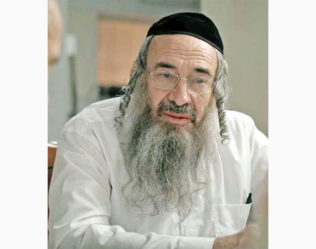 """Veteran Israeli actor Dov Glickman, who portrays Rabbi Shulem Shtisel in the Netflix series """"Shtisel,"""" took part in a Lappin Foundation fundraiser on Zoom."""