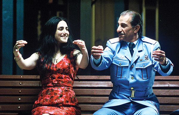 """Ronit Elkabetz and Sasson Gabai in the """"The Band's Visit,"""" which will run on Aug. 4 at the Boston Jewish Film Festival. Photo: Sony Pictures Classics"""